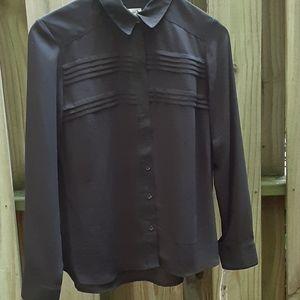 NWT Nanette Lepore blouse black sz S